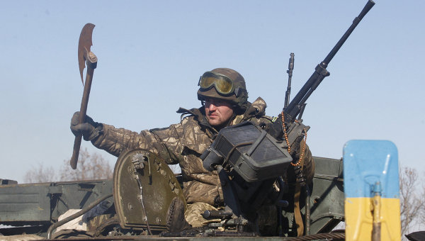 Террористы продолжают использовать крупнокалиберное вооружение. В пригороде Донецка традиционно неспокойно, - пресс-центр АТО - Цензор.НЕТ 5897