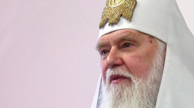 Патріарх Філарет. Фото:newsprolife.com.ua