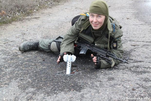 Олена Білозерська. Фото: Facebook