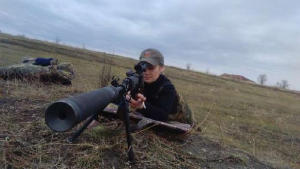 Російська снайперка Тетяна Макарова. Фото: соцмережі.