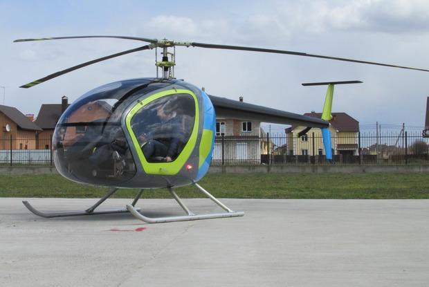 Новий тримісний вертоліт SL-231 Scout. Фото: drive2.ru.