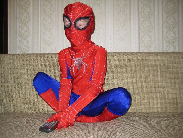 Новогодние костюмы своими руками человек паук