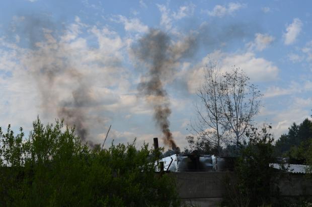 Шкідливе виробництво на Хмельниччині. Фото: Депо.
