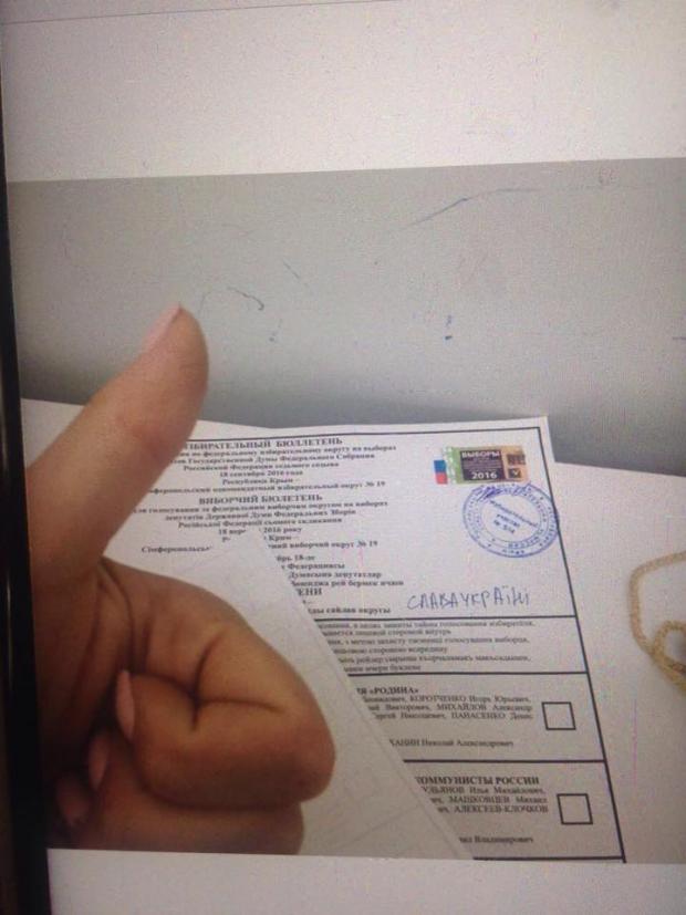 Не явившихся на выборы в оккупированном Крыму бюджетников обзванивают с угрозами, - Смедляев - Цензор.НЕТ 614