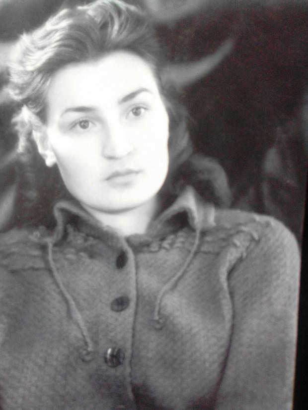 Софія Ярова в роки окупації. Фото з особистого архіву