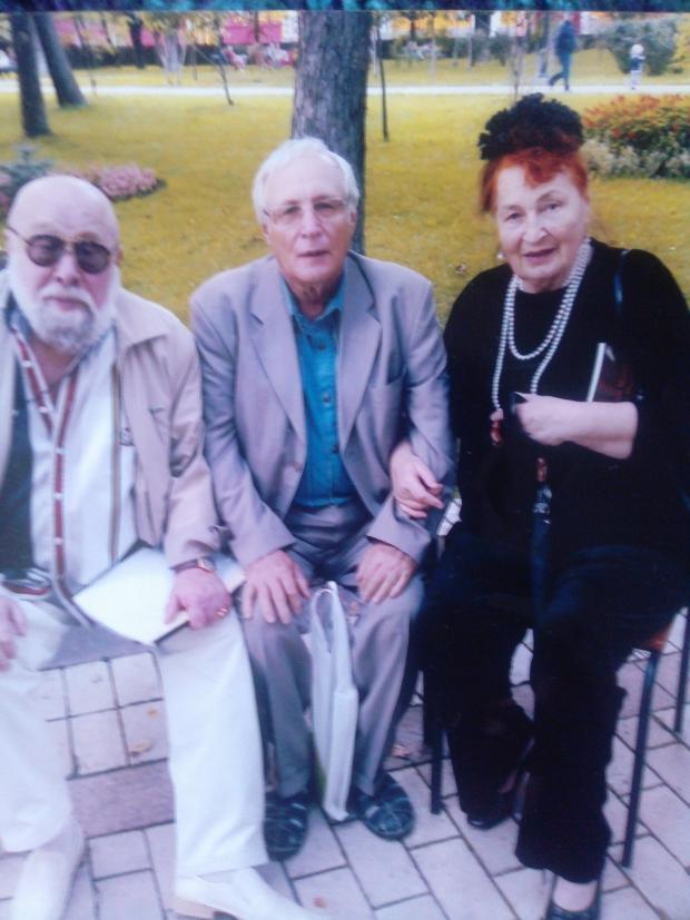 Софія Ярова на зустрічі з колегами, наші дні. Фото з особистого архіву