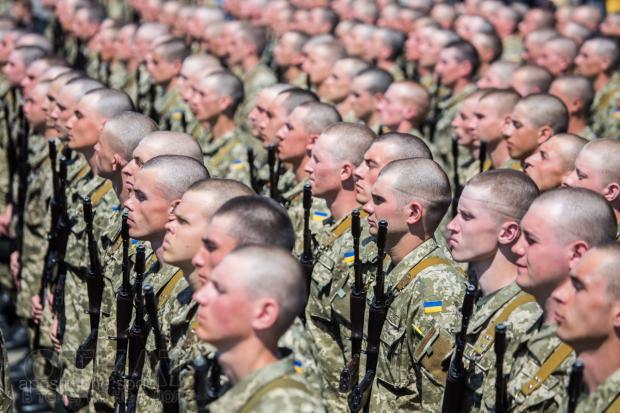 Українські військові. Фото: bortsi.com.ua.