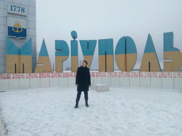 Савченко відвідала лінію розмежування та побувала в Маріуполі. Фото: Фейсбук.