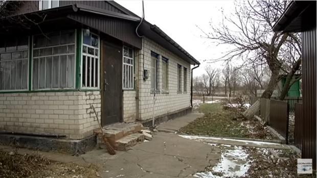 Будинок, в якому проживала матір затриманого
