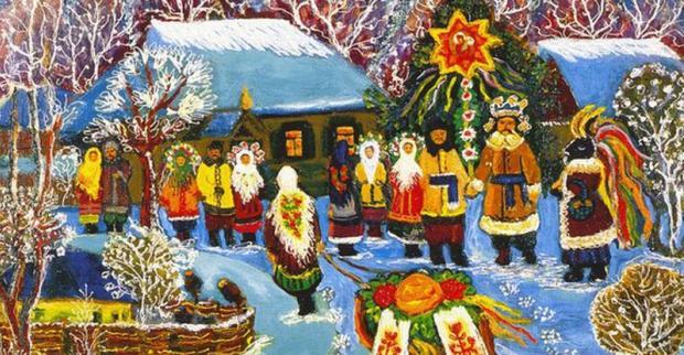 Старий Новий рік - улюблене свято. Ілюстрація: Телеграф.