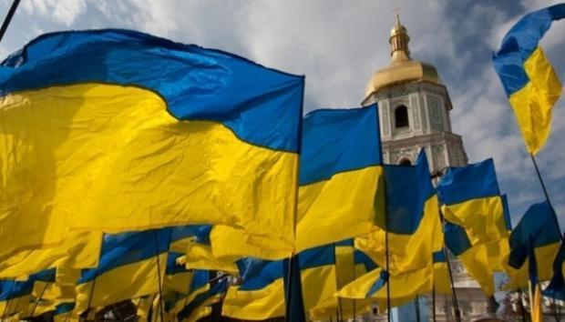 Україна ніколи не стояла на колінах. Ілюстрація:Укрінформ