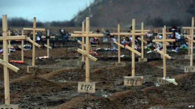 Росіяни не розраховували на масштабні втрати. Фото: AFP.