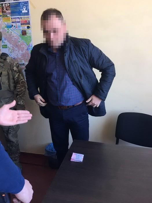 Декан-хабарник. Фото:прес-служба СБУ