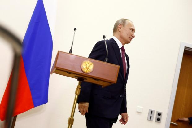 Путін. Фото:уніан