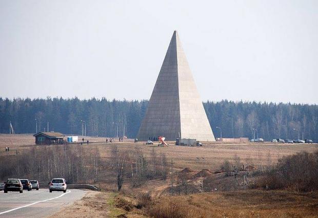 Піраміда Путіна. Фото: Фейсбук.