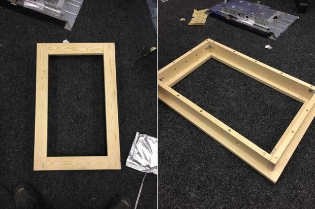 Красивые рамки для зеркала своими руками 95