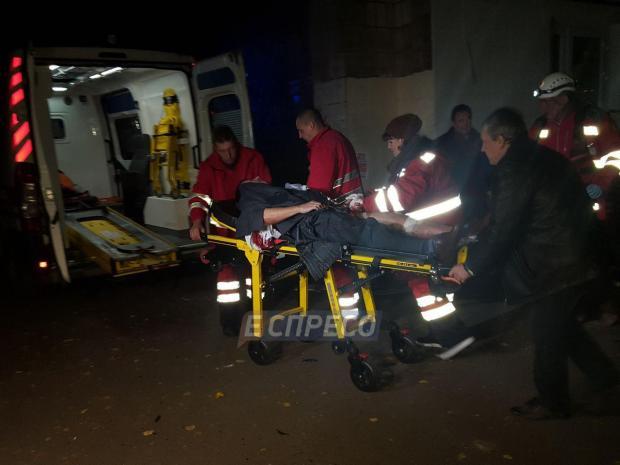 Ігоря Мосійчука доставили у лікарню. Фото: Еспресо.