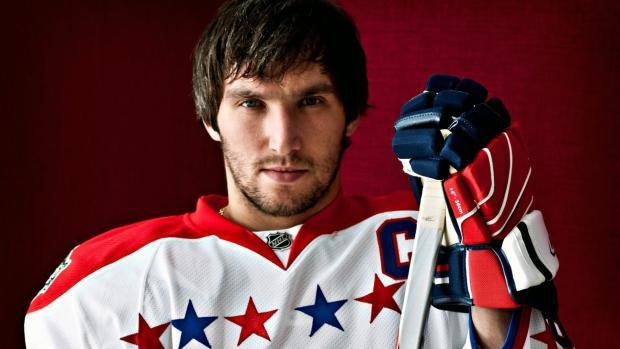 Хокеїст Олександр Овечкин. Фото: соцмережі.
