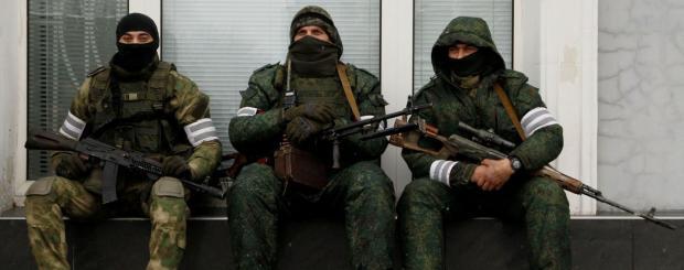 """Бойовики """"ЛНР"""". Фото: соцмережі."""