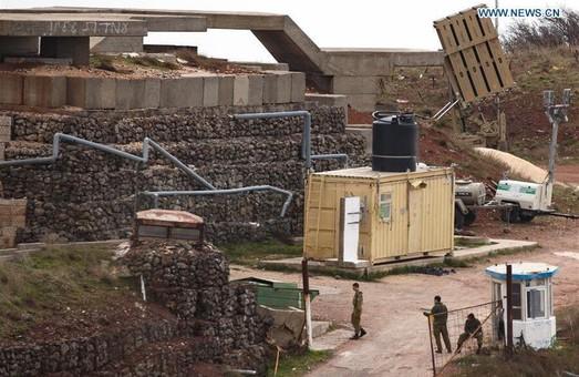 """""""Залізний купол"""" помітили біля кордону із Сирією. Фото: News.cn."""