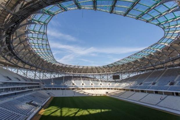 """Стадіон """"Волгоград Арена"""". Фото: соцмережі."""