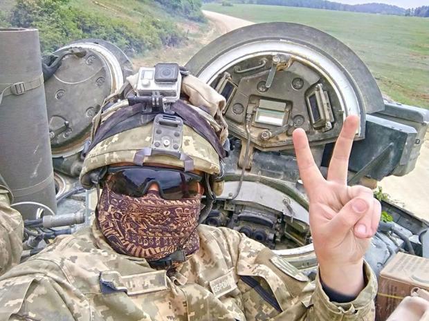 Українські військові вразили іноземних колег. Фото: Фейсбук.