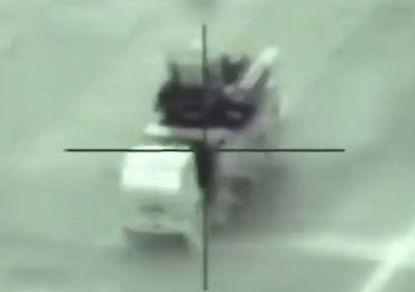 Ізраїльтяни ефективно знищили цілу низку об'єктів. Фото: скріншот з відео.