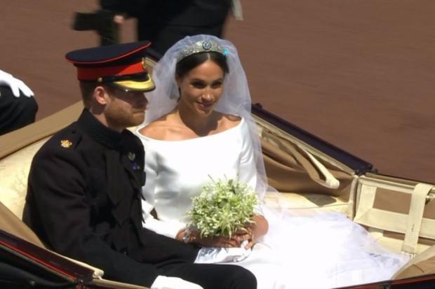 Принц Гаррі та Меган Маркл одружилися. Фото:Українські Новини