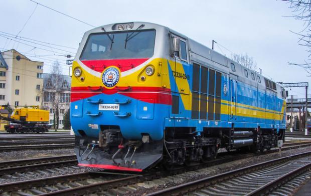 Тепловоз General Electric серії ТЕ33АС. Фото:allkharkov.ua