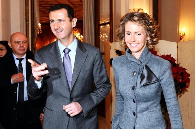 Башар Асад з дружиною. Фото:youtube