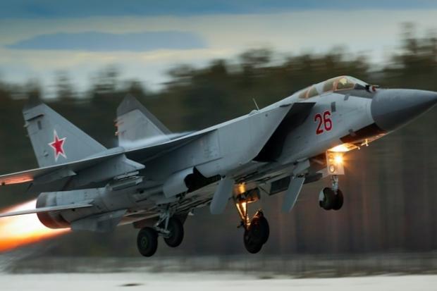 Російський Міг-31. Фото: Vesti.lv.