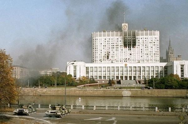25 років тому Єльцин здійснив переворот. Фото: kvobzor.ru.