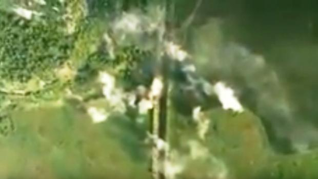 Російські найманці втратили не тільки бліндажі, але й життя. Фото: скріншот з відео.