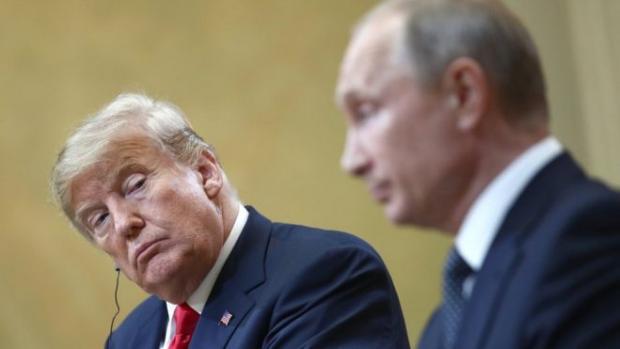 """Трамп """"кинув"""" Путіна? Фото: ТАСС."""