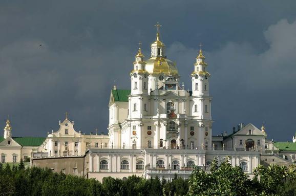 Почаївська лавра. Фото: Вікіпедія.