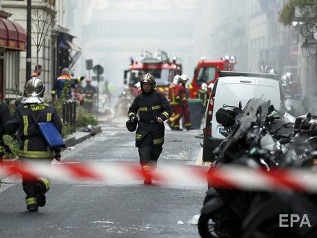На місці вибуху у Парижі. Фото: ЕРА.