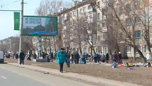 У окупованому Луганську. Фото: соцмережі.