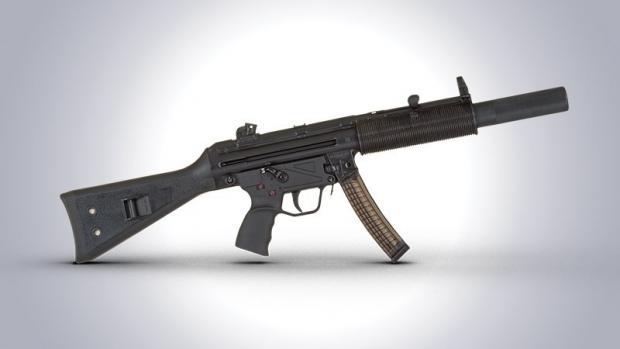 Нацполіцію озброять турецькими пістолетами-кулеметами МР5. Фото: mil.in.ua.