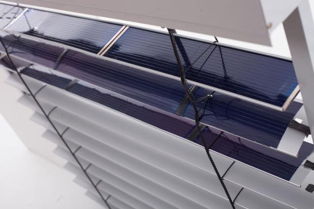 Розумні жалюзі SolarGaps. Фото: uprom.info.