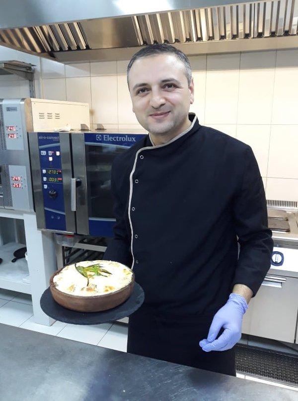 Звиад Меликидзе: «Мое авторское блюдо «Багратиони» вкусное и сытное»
