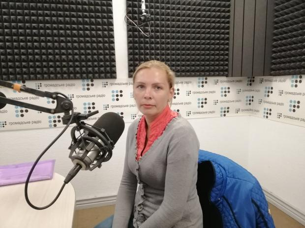Олена Якименко. Фото: Громадське радіо.