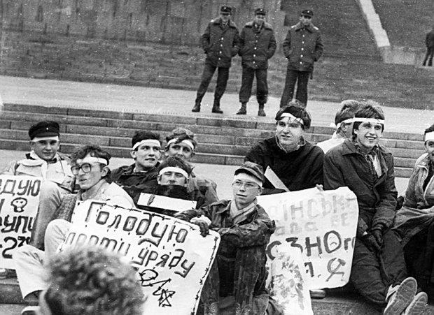 Студенти зібралися у самому центрі Києва