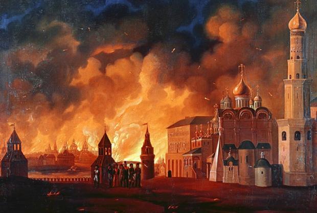 Девлет-Гірей палить Москву, Іван Грозний втік, залишивши свою столицю на поталу