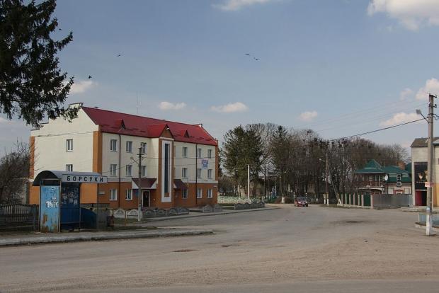 Село Борсуки в Тернопільській області