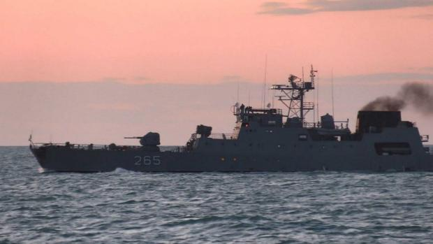 Корвет Румунії «Contraamiral Horia Macellariu» (F-265). Фото: ВМС України