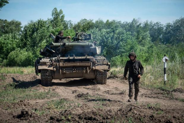 Навчання танкістів 93-ї бригади. Фото: 93 ОМБр