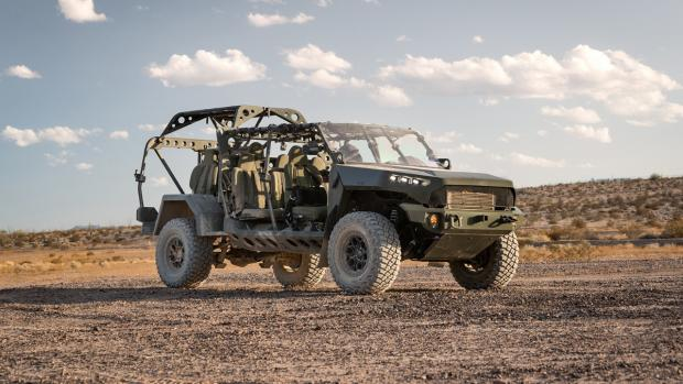 GM Defense's Infantry Squad Vehicle (ISV)