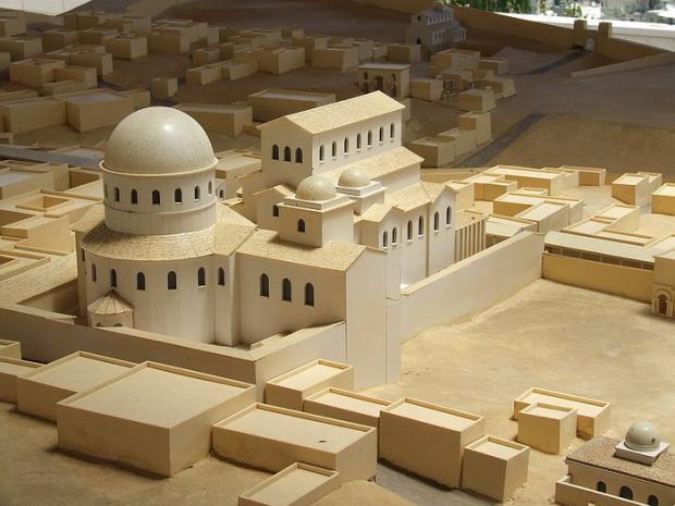 Храм Грому Господня у IV-VII століттях. Реконструкція