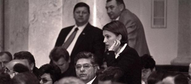 Лазаренко і Тимошенко у Верховній Раді середени 1990-х
