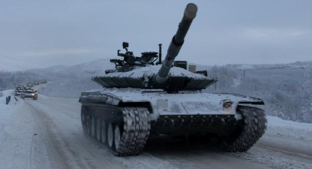 """Т-80БВМ у РФ позиціонують, як """"Арктичний"""""""